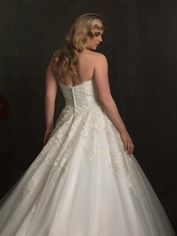 UTb2SblQfs4 - Свадебные платья Allure Bridals коллекции 2016