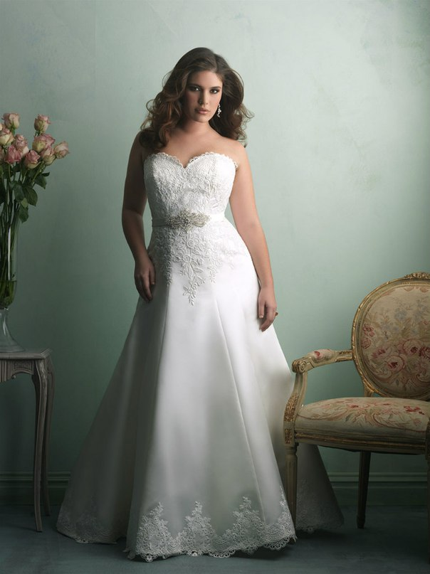 YoaMAcuy1Aw - Свадебные платья Allure Bridals коллекции 2016