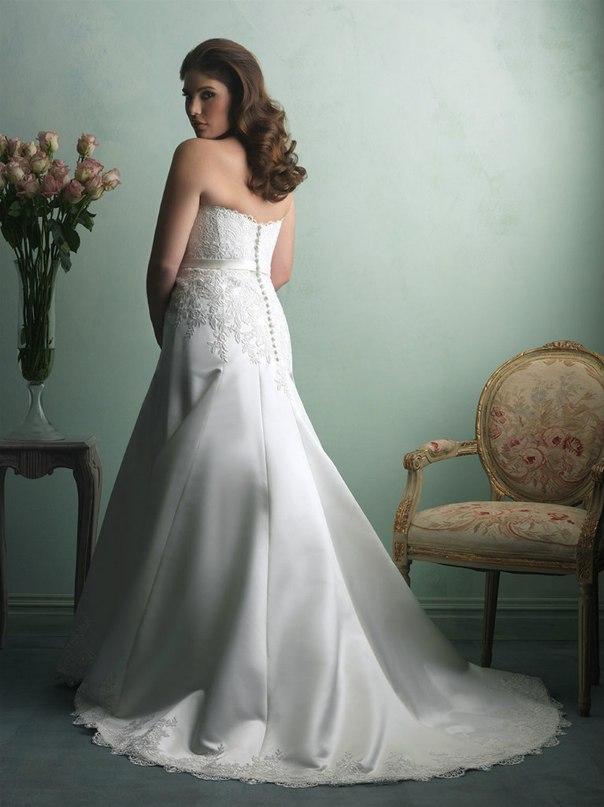 ynbXxtByOF8 - Свадебные платья Allure Bridals коллекции 2016