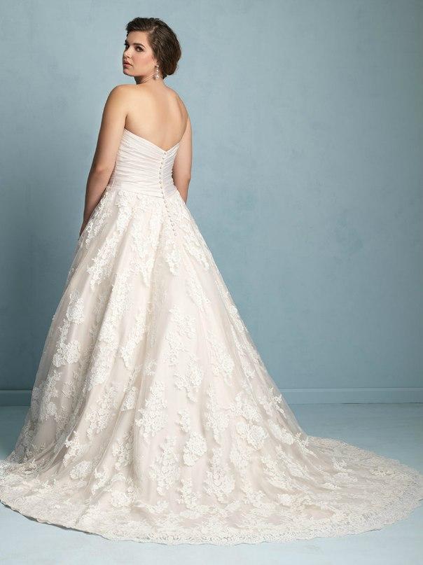 82yyLAtUD8w - Свадебные платья Allure Bridals коллекции 2016