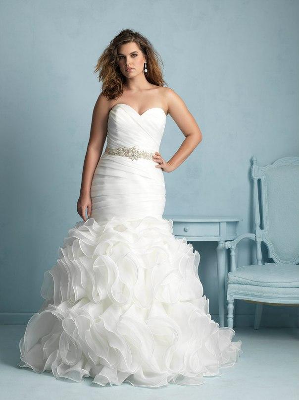YQDJsnGWVk8 - Свадебные платья Allure Bridals коллекции 2016