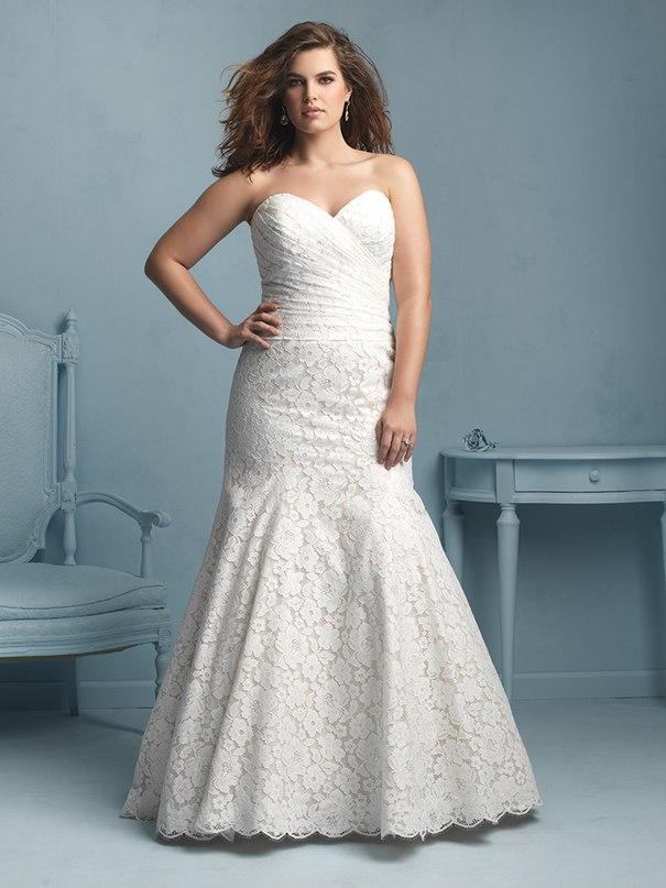 jBXZUYMHVOQ - Свадебные платья Allure Bridals коллекции 2016