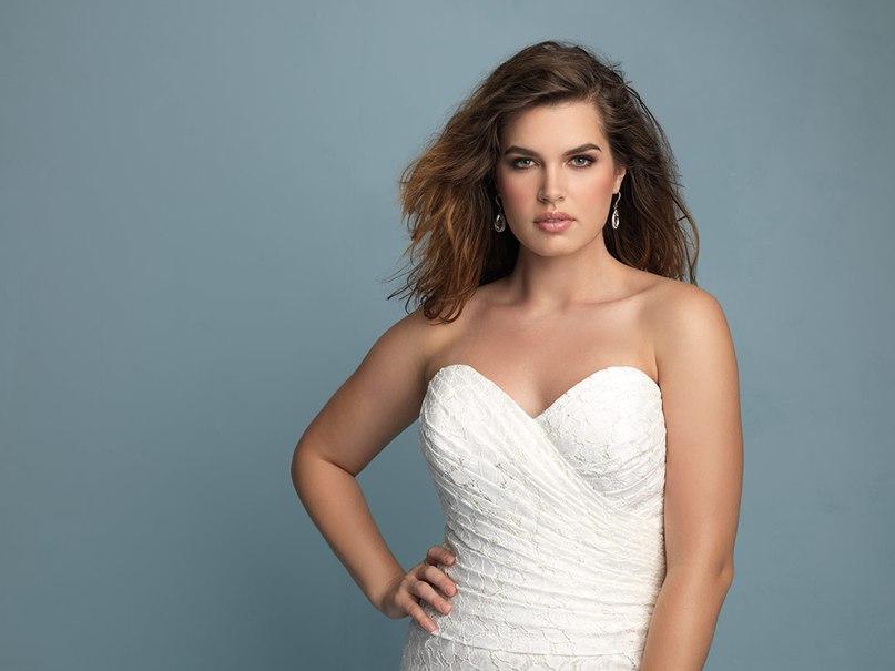 gJZBzSdtOQk - Свадебные платья Allure Bridals коллекции 2016