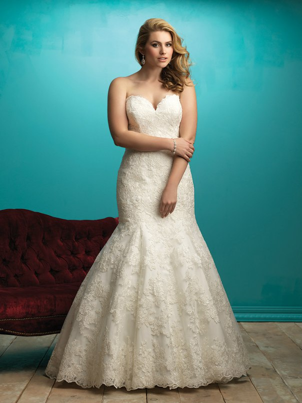 9ELGxzK0kI0 - Свадебные платья Allure Bridals коллекции 2016
