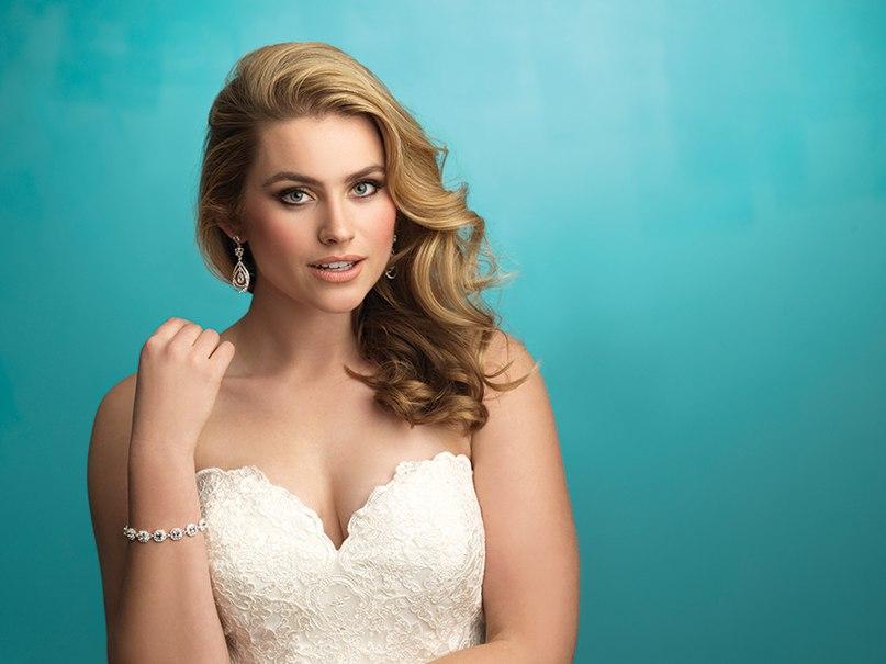 lOOOIY BDQI - Свадебные платья Allure Bridals коллекции 2016
