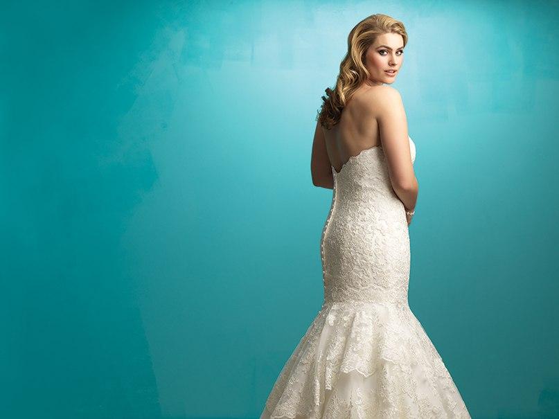 7A9rT5pafYc - Свадебные платья Allure Bridals коллекции 2016