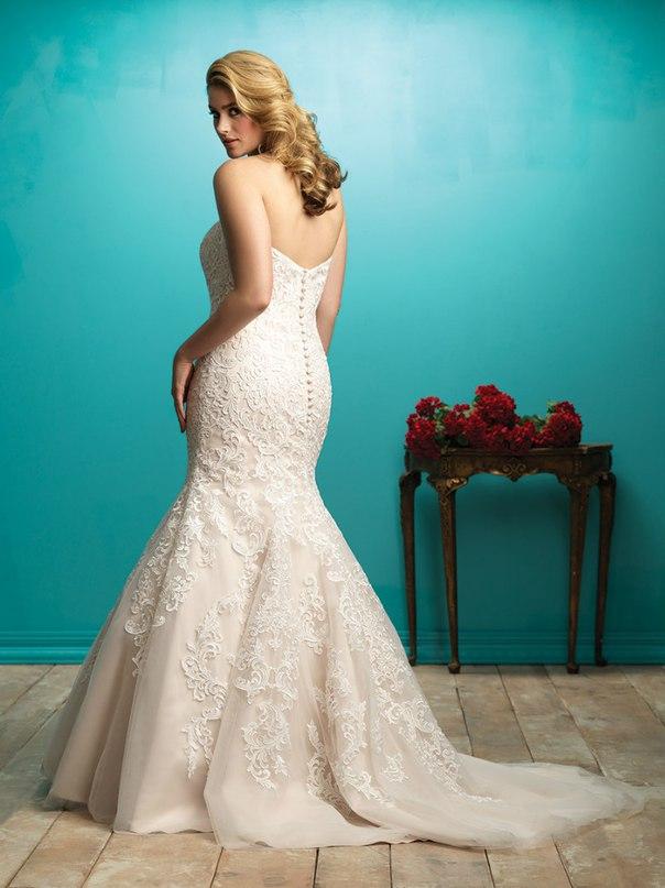 a 0brzFS7lM - Свадебные платья Allure Bridals коллекции 2016