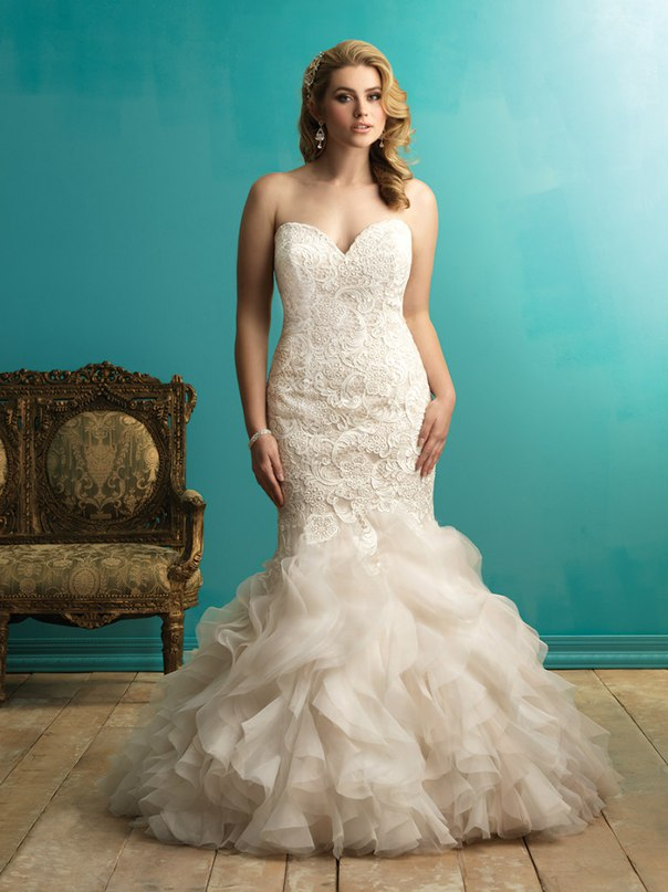 YVbfofzmMGk - Свадебные платья Allure Bridals коллекции 2016