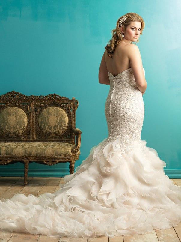 ibNG9DlLO7I - Свадебные платья Allure Bridals коллекции 2016