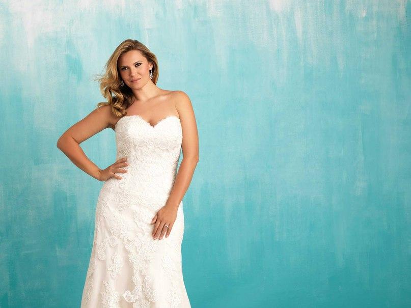 F9dA5cJf2ZM - Свадебные платья Allure Bridals коллекции 2016