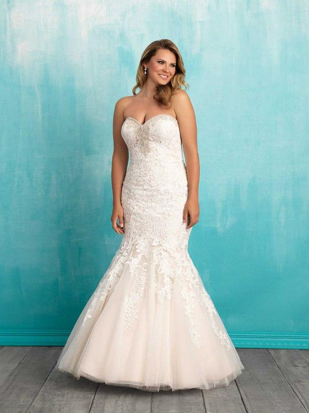 hvLPl2OlXkI - Свадебные платья Allure Bridals коллекции 2016
