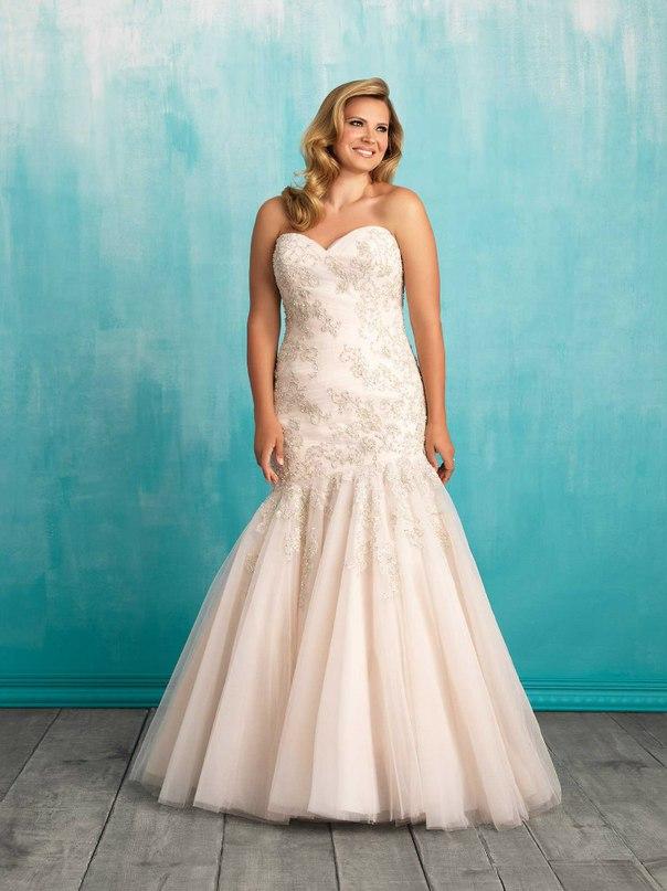 oTWzM4k2E68 - Свадебные платья Allure Bridals коллекции 2016