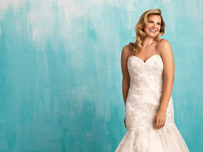Lku9ZlIr9Vk - Свадебные платья Allure Bridals коллекции 2016