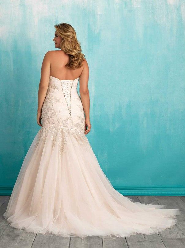 PnYi 08k vI - Свадебные платья Allure Bridals коллекции 2016