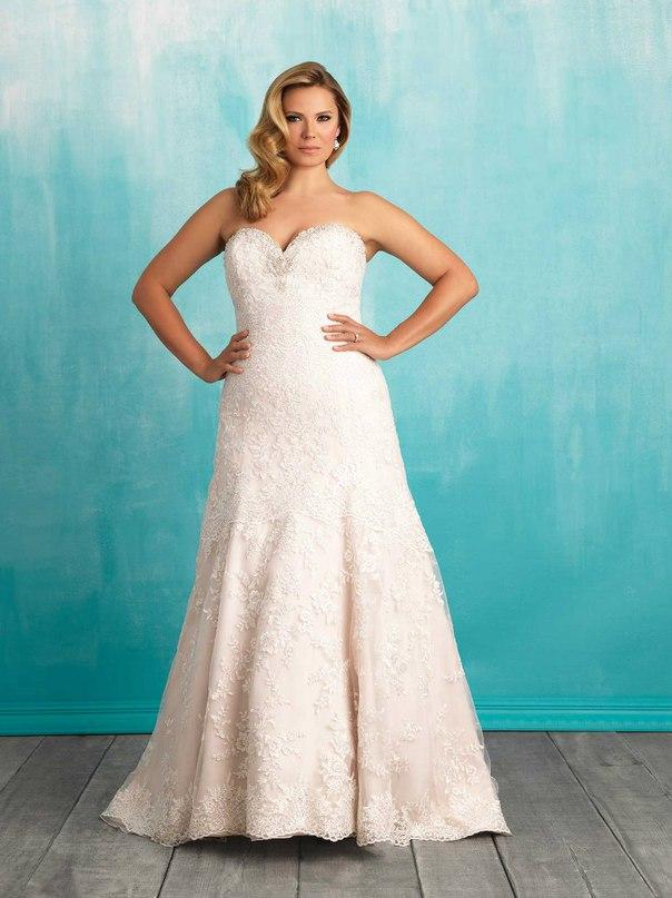 SZGdf T8 u8 - Свадебные платья Allure Bridals коллекции 2016