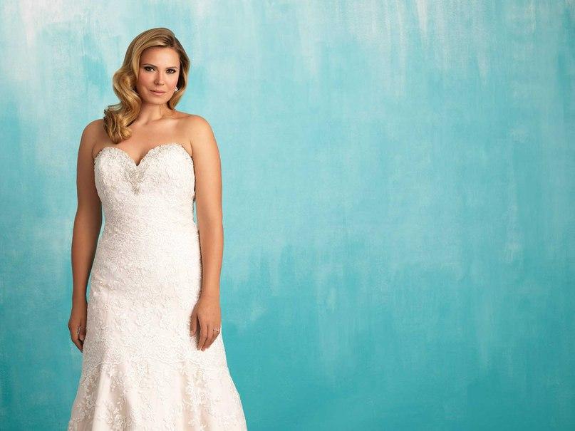 FMJAs3OrOhM - Свадебные платья Allure Bridals коллекции 2016
