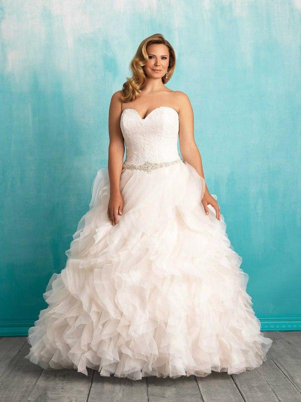 e2ATHFn3rjo - Свадебные платья Allure Bridals коллекции 2016