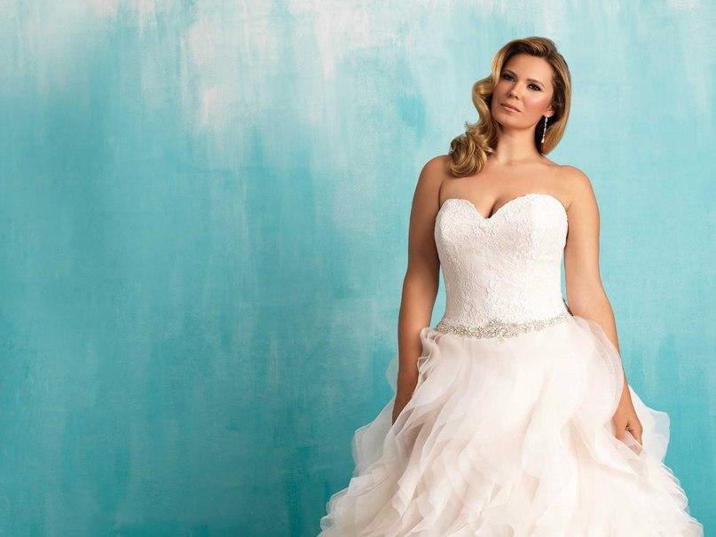 BLJW0l6GS0k - Свадебные платья Allure Bridals коллекции 2016