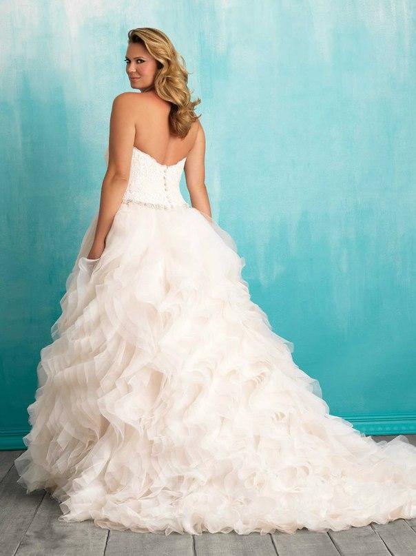 228vNjiEGbQ - Свадебные платья Allure Bridals коллекции 2016