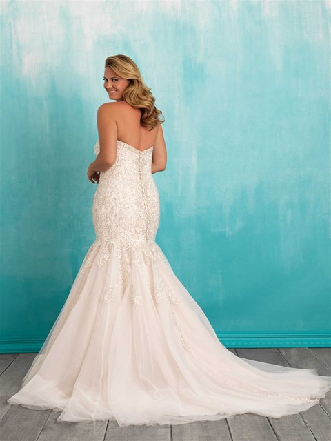 uPoNj8MGT1U - Свадебные платья Allure Bridals коллекции 2016
