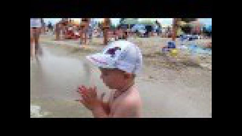 5.07.2015♥На пляже в Ейске♥Домой со второго раза♥Хуторянка