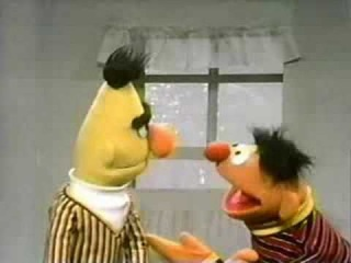 Classic Sesame Street - Ernie needs to fix the window