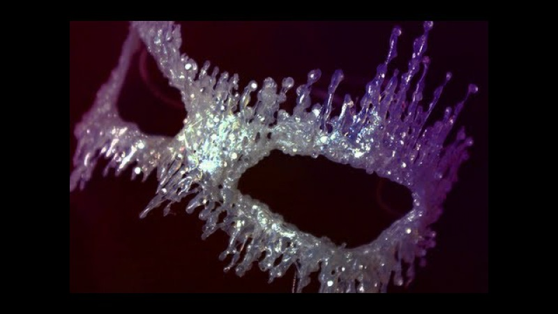 DIY Masquerade Mask Ice Queen