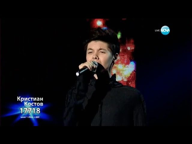 Кристиан Костов - Story of My Life - X Factor Live (04.01.2016)