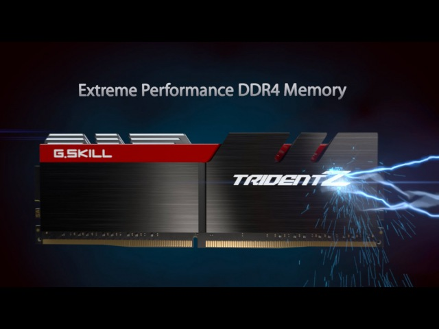 G.SKILL Trident Z DDR4 Memory