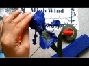 Iris paper flower - Làm hoa diên vĩ giấy nhún