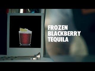 FROZEN BLACKBERRY TEQUILA DRINK RECIPE - HOW TO MIX