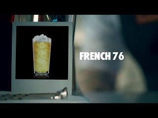 FRENCH 76 DRINK RECIPE - HOW TO MIX