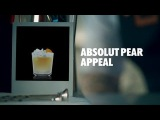 ABSOLUT PEAR APPEAL DRINK RECIPE - HOW TO MIX