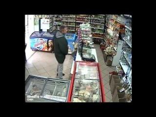 Разбойное ограбление в Локне (Псковская область)