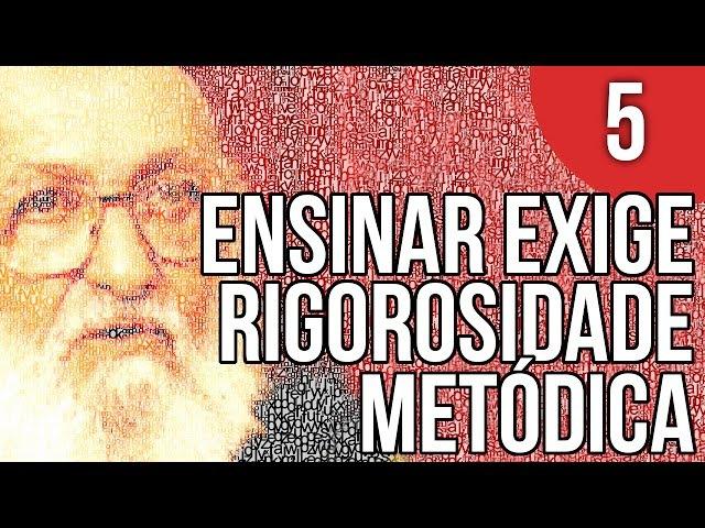 Capítulo 1 1 Ensinar Exige Rigorosidade Metódica Pedagogia da Autonomia de Paulo Freire