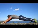 Jack Lalanne Push ups (30 reps) - EXTREME Core Exercise