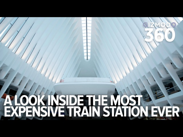 A 360° look inside NYC's new $4 billon dollar World Trade Center Transit Hub