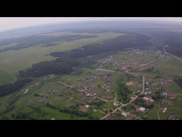 Село Бемыж с высоты птичьего полета