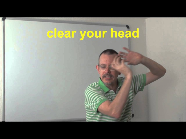 Learn English Daily Easy English Expression 0437 clear your head