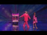 Шайтан на шоу британских талантов  Stevie Pink master illusionist takes to the stage