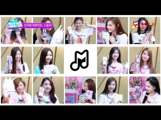 SIXTEEN Special MILK video - BTS filming