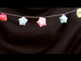 How to make Christmas paper Stars [HD, 720p]