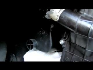 Ремонт потекшей печки в Peugeot 307