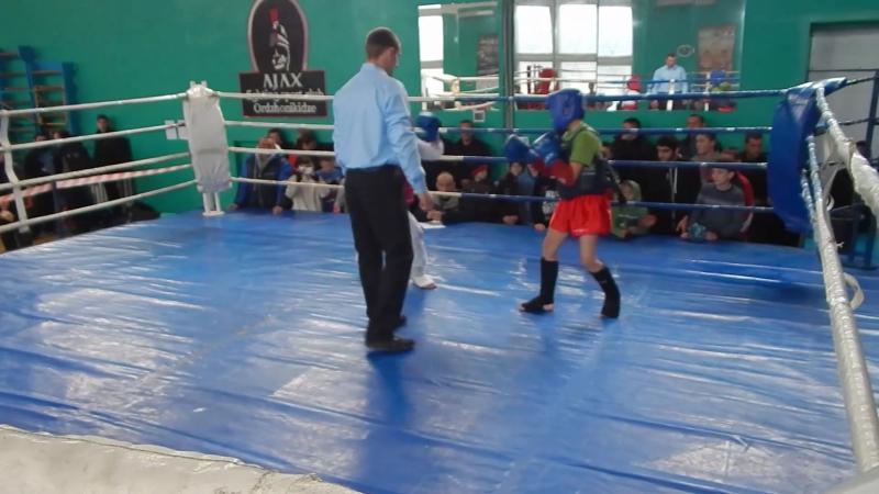 Savchenko_M первий раз на ринге