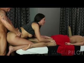 Жены массаж порно