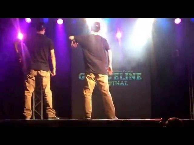 GROOVE LINE 2015 FINAL 【GUEST SHOW CASE】HOAN & jaygee & SATOCI& RIKU & ricky