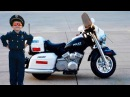 Little Heroes Kidz Motorz Patrol H. Police Motorcycle Unboxing and Toy Review