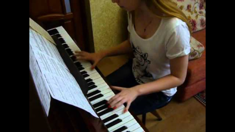 Король и шут - Воспоминания о былой любви (кавер пианино)