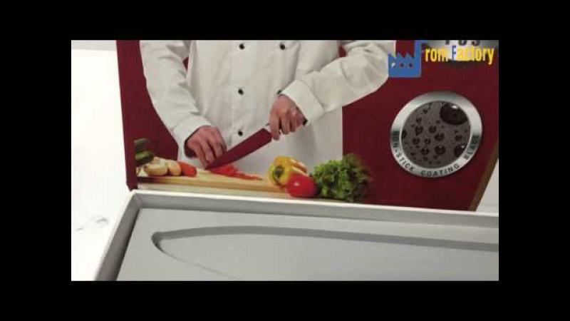 Видео обзор на Набо Ножей 6шт EVERRICH от ТМ Fromfactory