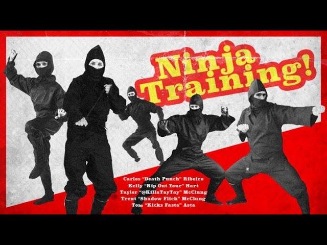 Carlos Ribeiro, Trent McClung, Kelly Hart, Taylor McClung, Tom Asta - Ninja Training